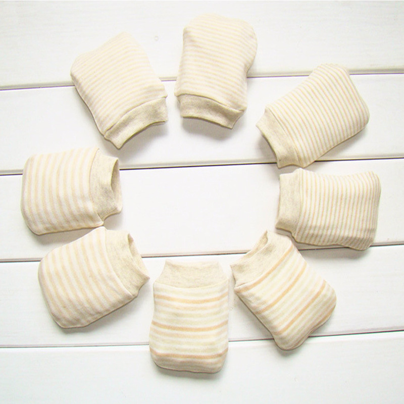 SeckinDogan Baby Mittens 100% Super Soft Cotton Baby Gloves Fashion Anti-Scratch four Seasons Safety Baby Accessorie cheap stuff