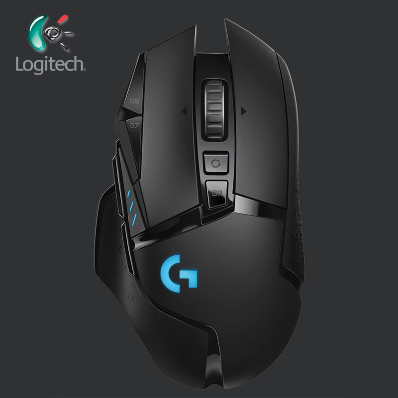 e9ac50baaa1 Logitech 2019 New G502 LIGHTSPEED Wireless Gaming Mouse Wireless with  2.4GHz HERO Sensor 16000 DPI RGB for overwatch mouse gamer