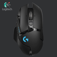 Logitech 2019 New G502 LIGHTSPEED Wireless Gaming Mouse Wireless with 2.4GHz HERO Sensor 16000 DPI RGB for overwatch mouse gamer