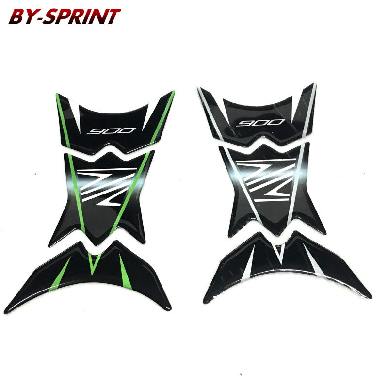 Z900 Z750 <font><b>Motorcycle</b></font> 3D Reflective ADESIVI Sticker Decal Emblem Protection Tank Pad Cas Cap For <font><b>KAWASAKI</b></font> <font><b>Z</b></font> <font><b>900</b></font> <font><b>Z</b></font> 750 image