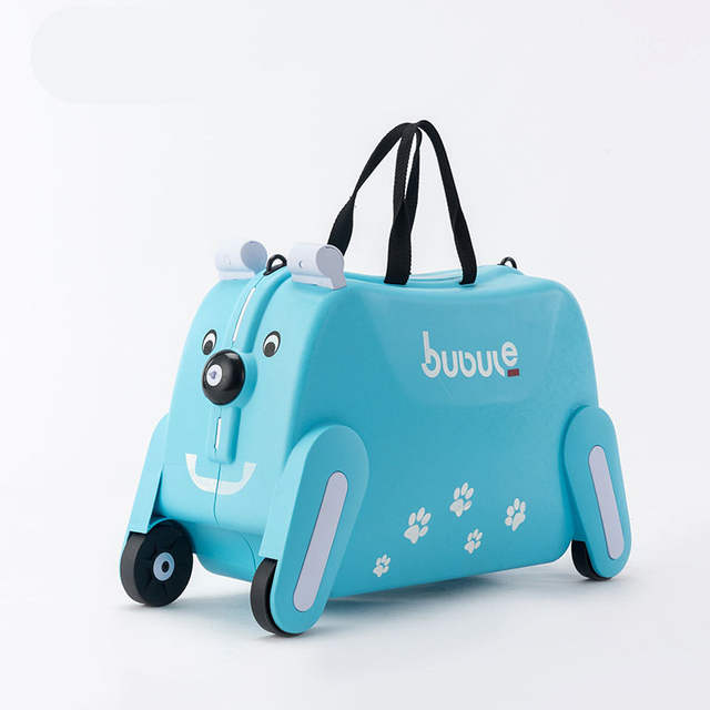 49395c868c56 BeaSumore toy motorcycle shape Kids Rolling Luggage Cute Cartoon Children  Suitcase Wheels Cabin Girls Trolley Student