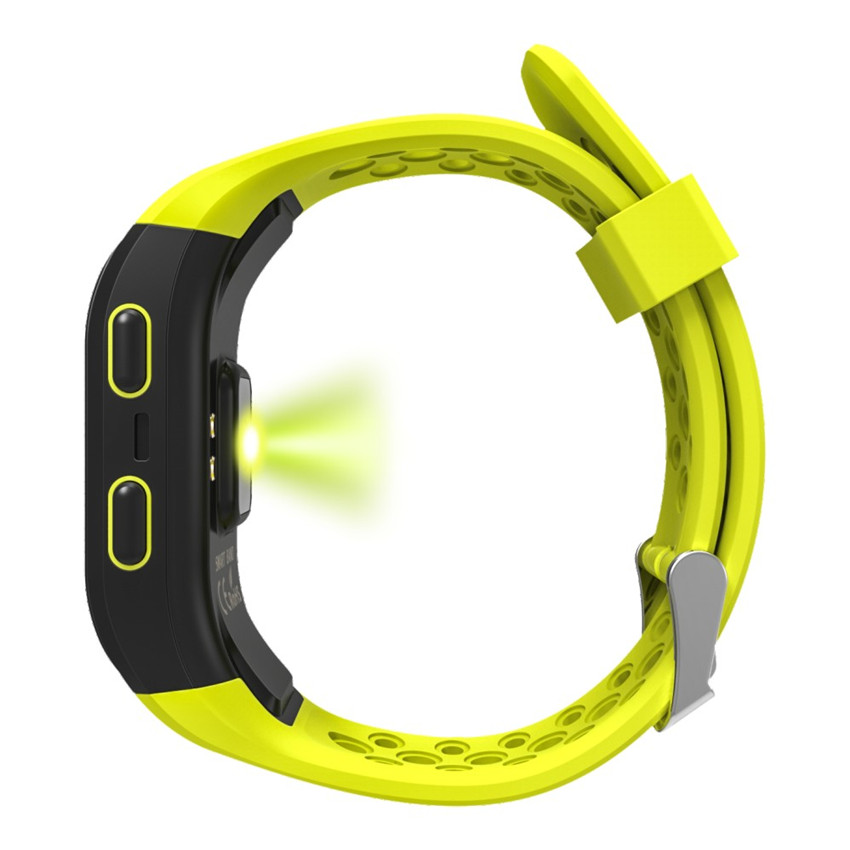 ae25fc42167 Aliexpress.com  Compre HOT IP68 Nadar Relógio Inteligente GPS Corrida Ciclo Subida  Montre Conectar GPS Esporte Heart Rate Monitor Para IOS  Xiaomi Sony ...
