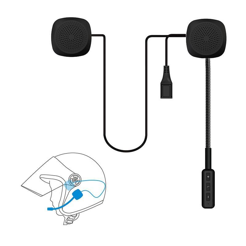 Motor Wireless Bluetooth 4.1 Headset Motorcycle Helmet HiFi Headphone Speaker Handsfree Music Earphone For Scooter Hats YH2