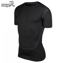 Balight Laufen Männer Compression Sport T Shirts Athletisch Basketball Jersey Tops Sammlung(China)