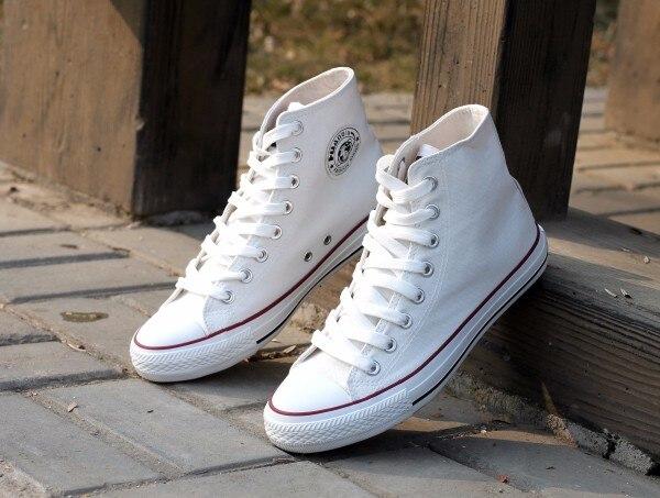 Cheap high canvas sneakers