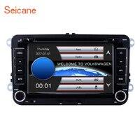 Seicane 2DIN универсальный 7 800*480 Wince CE 6,0 gps Bluetooth автомобильный FM Радио DVD плеер для VW Polo Golf SKODA сиденья Поддержка SD DVR