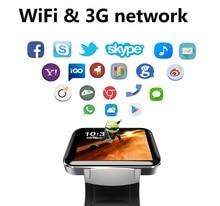ELECTSHONG Bluetooth Smart Watch 2.2″ Android 4.4OS 3G Net Smartwatch CPU Dual Core 1.2GHz 4GB ROM Camera WCDMA GPS WiFi Watch