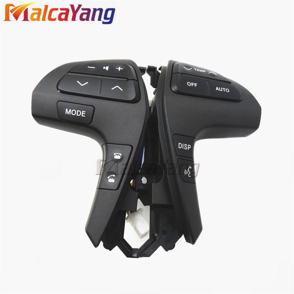 84250-0E220 84250-0E120 Auto Steering Audio Control Tombol Switch - Suku cadang mobil - Foto 2