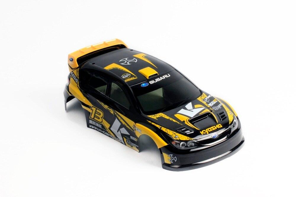 Oyuncaklar ve Hobi Ürünleri'ten Parçalar ve Aksesuarlar'de RC Yarış Özel Boyalı Araba Vücut Kabuğu 1/10 ölçekli On yol Araba sürüklenme için Kyosho HPI Tamiya HSP 200mm'da  Grup 2