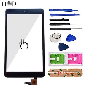 Image 2 - 8 Touch Digitizer For Alcatel One Touch POP 8 P320X P320 Touch Screen Touch Panel Lens Sensor TouchScreen Tools 3m Glue Wipes