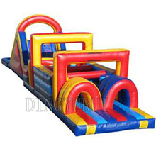 Giant inflatable obstacle course, kids and adult  game