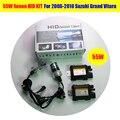 1 Unidades Blanco HID KIT 55 W 6000 K lámpara de Xenón Coche Lastre Lámpara Corriente Diurna de niebla de la Linterna Para Suzuki Grand Vitara 2006-2010