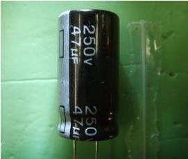 Electrolytic Capacitor 250V 47UF Capacitor