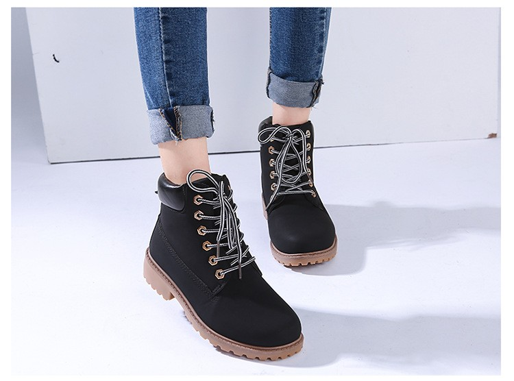 autumn Plush Snow Boots Women Wedges Knee-high Slip-resistant Boots Thermal Female Cotton-padded Shoes Warm Size G2W 22