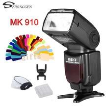 MEIKE MK-910 Speedlite1 MK910 i-Flash TTL/8000 s w Livre do Flash Difusor bounce para Nikon SB900 SB800 SB600 D610 D4 D800 D7100 Df