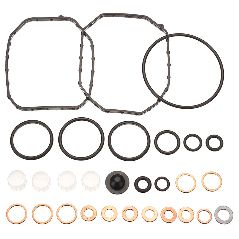 Oil Injector Plastic Black Seal Component Repair Kit for VP37 2467010003 for Audi 1.9 TDI / 2.5TDI for BMW tds for Mercedes