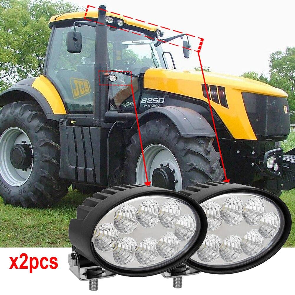 Jd 7000-7010 8000-8010 9000 Serie Traktoren Oem Anzahl Re154898 Re154900 Links Oder Rechts Hand Windschutzscheibe Säule Lichter X2