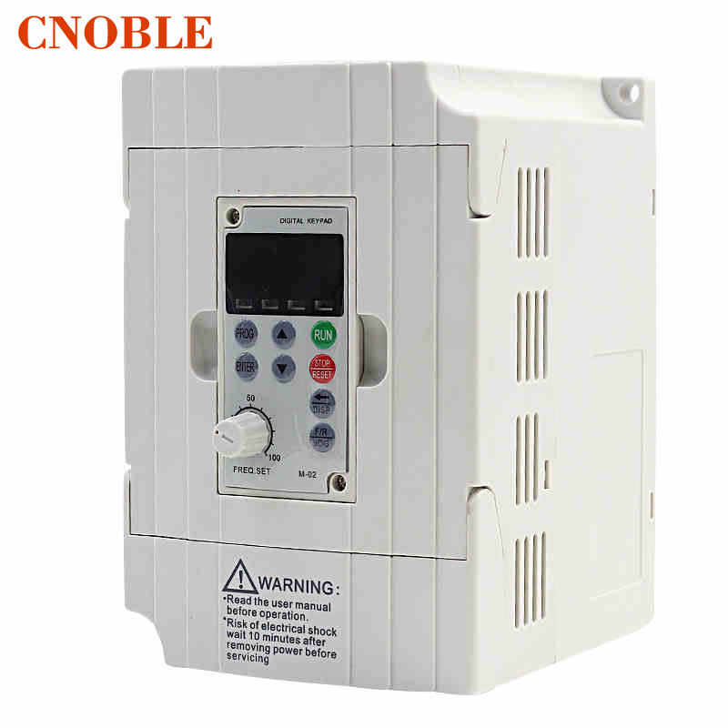 220v Vfd Spindle Motor Speed Control 750w Variable