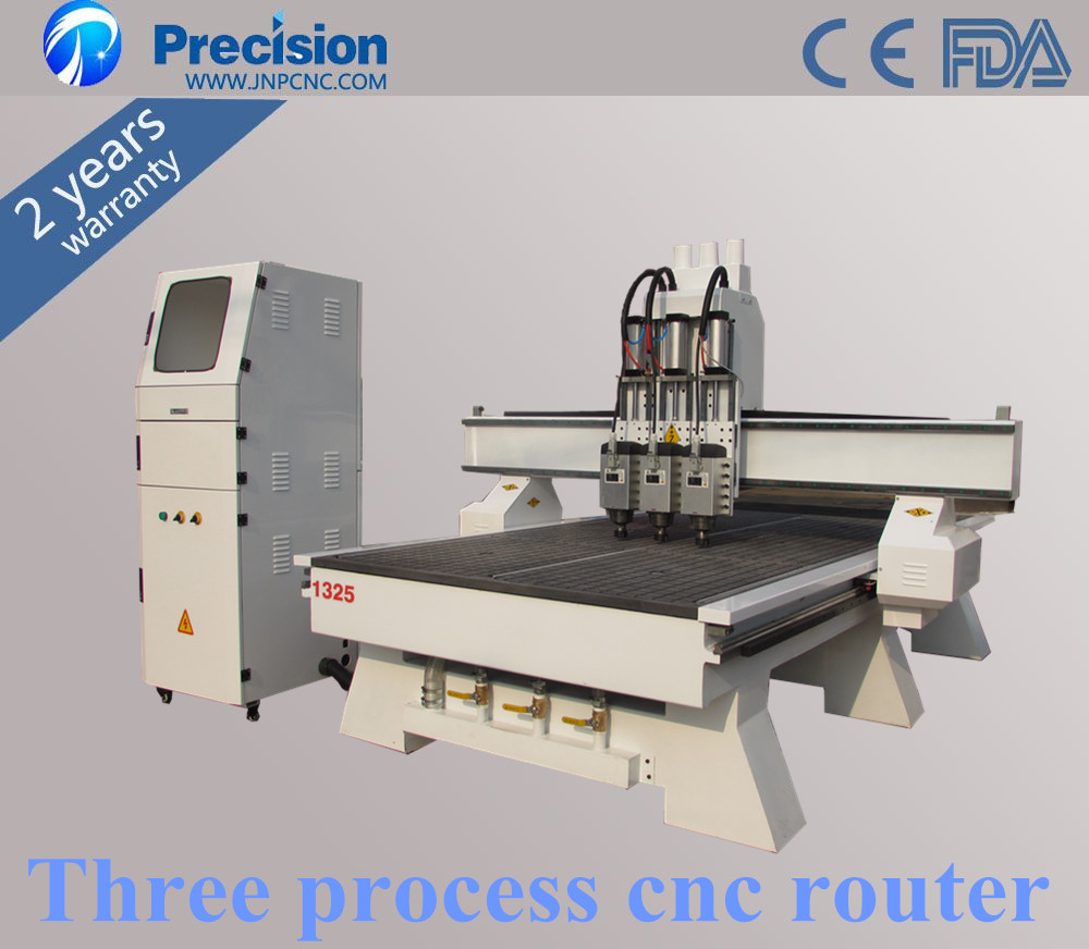 Three heads 3d relief cnc wood router china mainland wood router - Three Head 3d Engraving Cnc Router