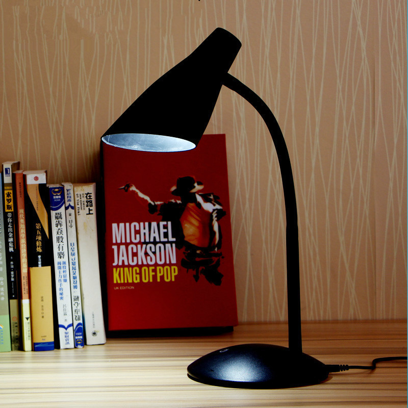 5W Creative led desk lamp bedroom bedside reading learning eye care lamp decorative adjustable USB rechareable desk light