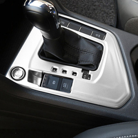 Car Styling ABS Chrome Gear Box Shift Panel Cover Trim Frame Decoration Fit For Volkswagen VW Tiguan Second Generation 2017 2018