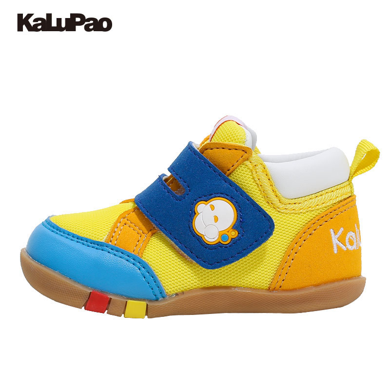 KALUPAO 12.5-15CM Insole Kids Baby Boys Girls First Walkers Anti-Slip Sneakers Soft Bottom Casual Shoes First Walkers