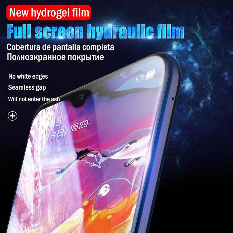 25D هيدروجيل فيلم لسامسونج غالاكسي S8 S10E s9 plus واقي للشاشة ل A70 A30 A20 A70 A80 A90 A10 A50 لينة فيلم لا الزجاج