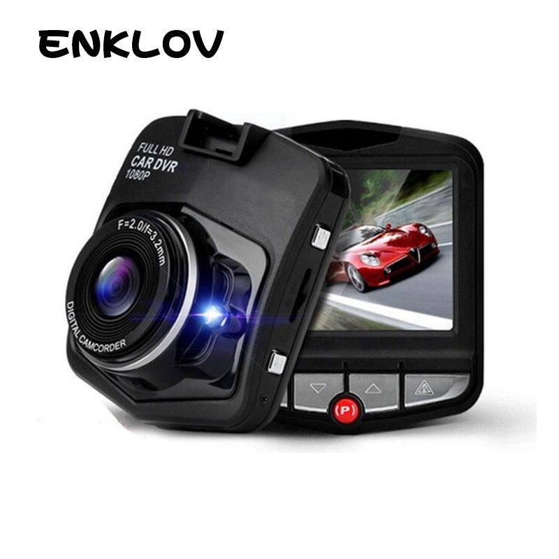 ENKLOV Mini Car Camera Full HD 1080P Dash Cam 170 Wide-angle DVR English / Russian User Manual G-sensor Night Vision Car DVR