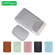 LoliHippo Ultrathin Pu Leather Laptop Sleeve Case for Apple Macbook Air Pro 13 14 15 Inch Notebook Inner Protective Bag Cover