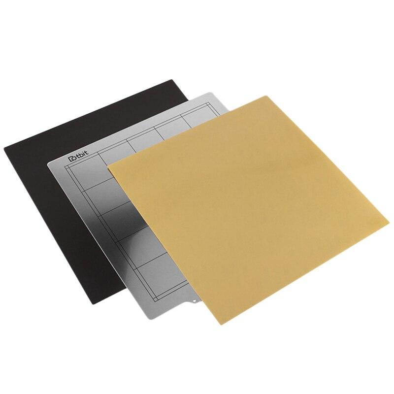 3D 印刷アクセサリー Cr 10S ホットベッドプラットフォーム 300 × 300 ミリメートル鋼板 + 磁気ステッカー B 表面 + 高温度 Resistan -