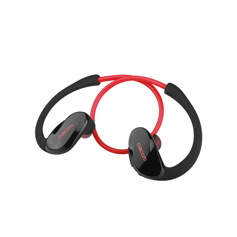 Dacom Atlet Bluetooth 4.1 headset Nirkabel headphone olahraga stereo earphone dengan mikrofon Untuk iphone Huawei xiaomi