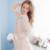 Frete Grátis Mulheres Pijama Retro Palácio Princesa Puro Algodão Conjuntos de Pijama Longo-Manga Rendas Sleepwear Pijama Feminino s16011