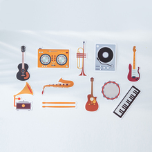 30pcs musical instrument style card as memory postcard invitation Greeting Cards gift Christmas postcard & invitation