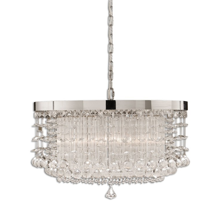 Aliexpress Buy Guaranteed 100 Dia40cm High Quality Modern Crystal Chandelier For Dining Room Luxury LED Lustre Kitchen Lighting Chandeliers From