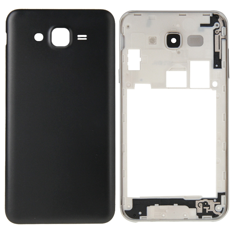 Full Housing Cover Replacement(Middle Frame Bazel + Battery Back Cover) for Galaxy J7