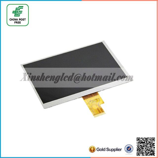 7 дюймов ( 1024 * 600 ) 40pin жк-дисплей экран размер : 165 * 100 мм fpc-t-0700-030-1 для билайн датчик цели и фона планшетный пк жк-дисплей