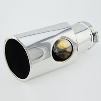 Exhaust tip tail rear end muffler for Toyota FJ Cruiser protective pipe cover sleeve Stainless steel Accessories