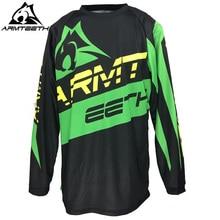 2018 armteeth мотоциклетные Джерси Quick Dry Off Road Racing одежда Мужская MTB Рубашки для мальчиков Мотокросс Одежда S-5XL