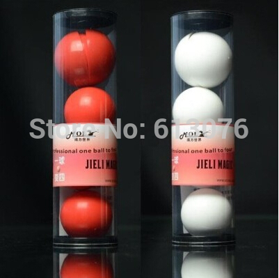 Deluxe Multiplying Balls(white/red For Choice),diamter=4.3cm,one To Four Balls - Magic Trick,magic Accessories,stage Magic