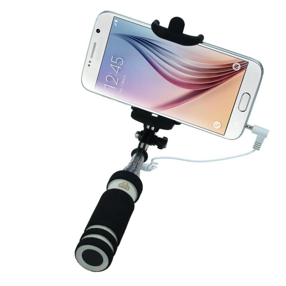 malloom 2016 aluminum selfie stick android vara mini extendable handheld fold. Black Bedroom Furniture Sets. Home Design Ideas
