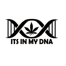 Coffee Its In My DNA Decal Sticker Car Truck SUV Van Laptop Cup Wall Gift Styling Vinyl Hobby Bumper