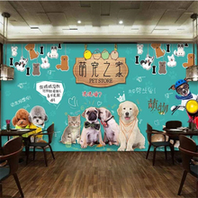 Custom wallpaper 3d mural papel de parede personality HD cute pet home shop tooling wall living room bedroom