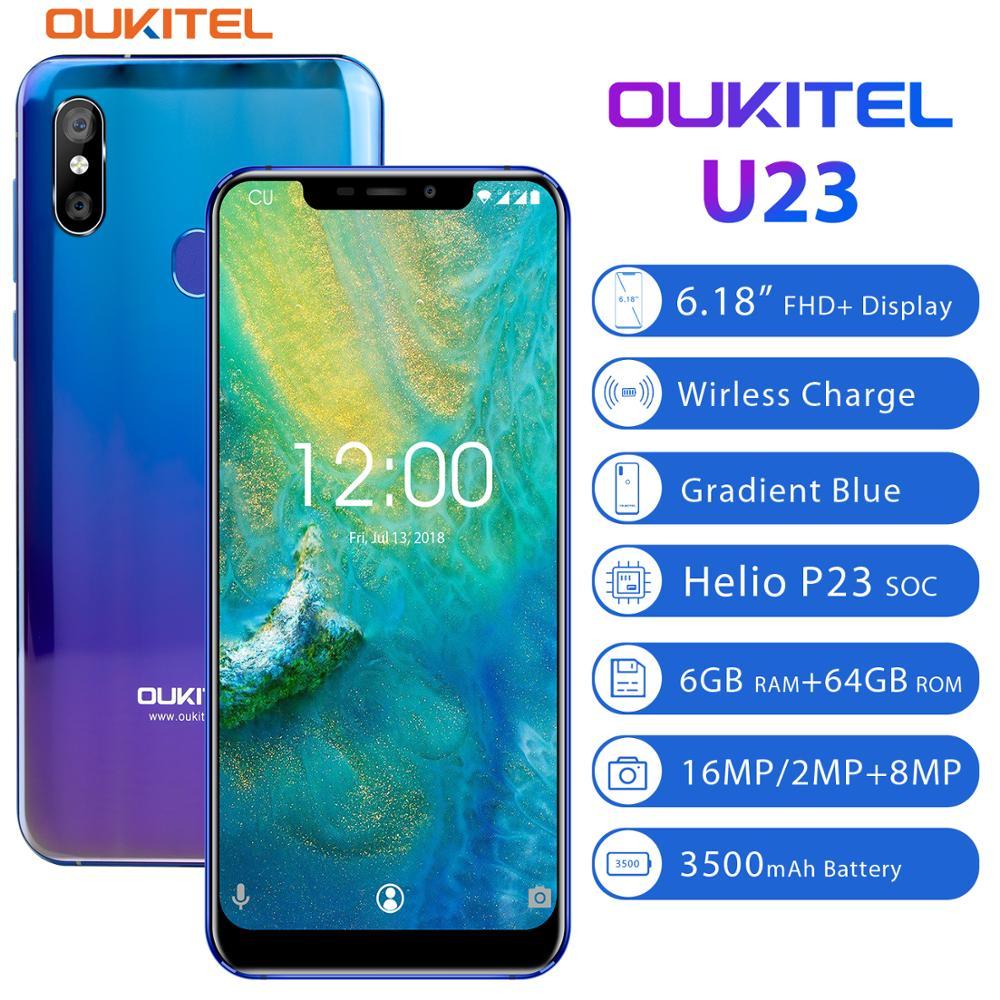 Купить Смартфон OUKITEL U23 6,18