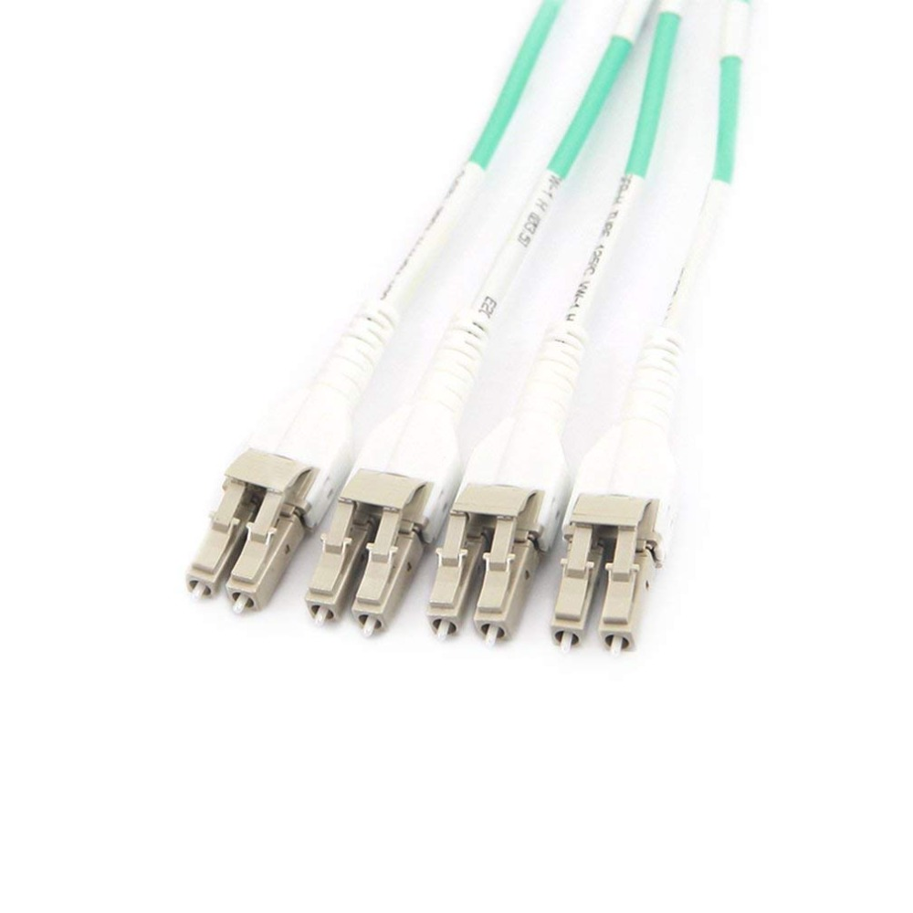 10Gtek 5-meter (16,5 fot) MPO till 8xLC Fiber Optical Patch Cord, - Kommunikationsutrustning - Foto 4