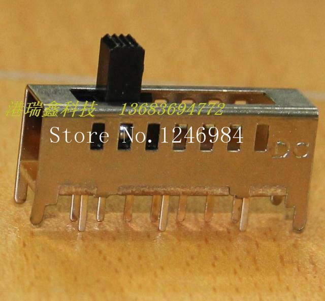 [SA]Small toggle switch seven -speed DC vertical sliding switch DC power switch SS-17E03--50pcs/lot