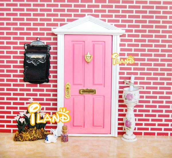 Online buy wholesale fairy door from china fairy door for Wooden fairy doors that open