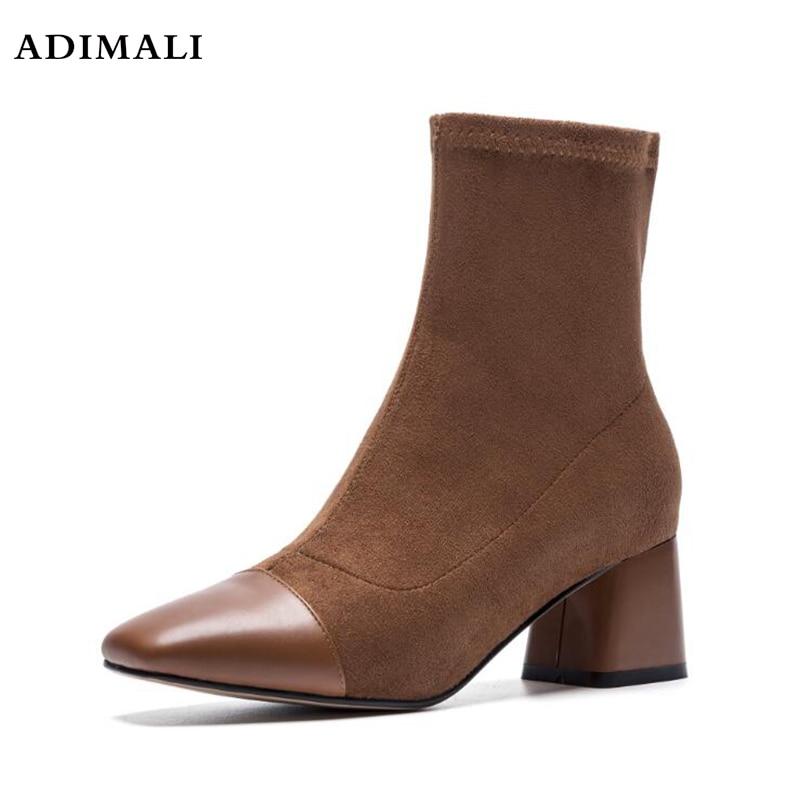 2017 Autumn Woman Platform High Heels Ankle Boots Women Short Boots Ladies Shoes black heels ladies platform shoes woman spring autumn punk boots chunky high heels pumps women ankle boots for women heels y782