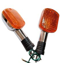 2Pcs Front/Rear Turn Signal Blinker Light For Honda Magna VF250 VF750 Rebel CA250 CMX250 CMX400 цены онлайн