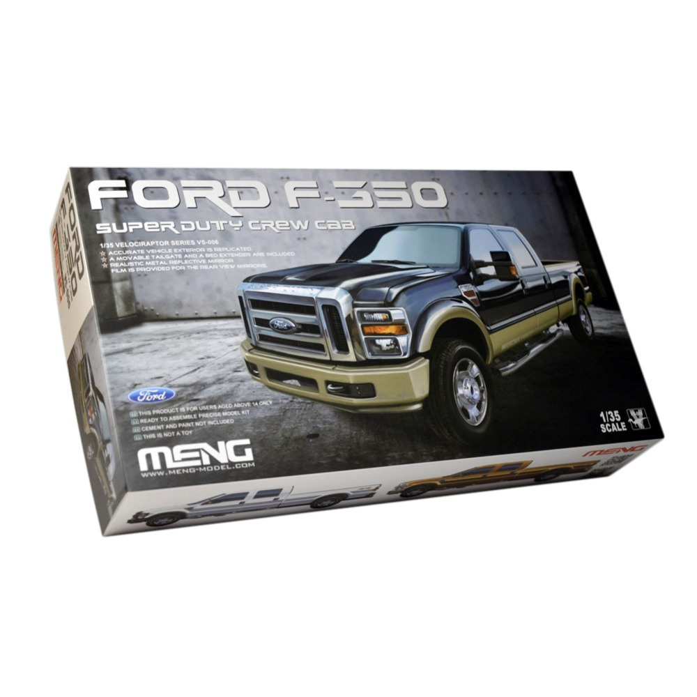 OHS Meng VS006 1/35 F350 Super Duty Crew Cab And Optional
