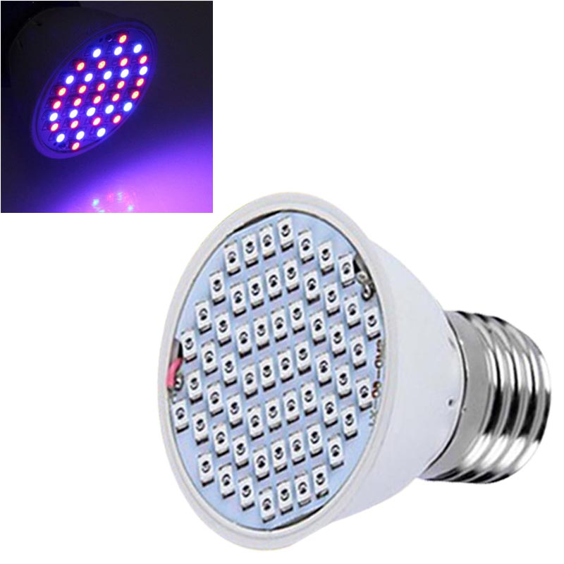 New 85-265V 3W E27 20Red 16Blue Led Epistar Hydroponic Plant Growing LED Grow Light Bulb Lamp CLH